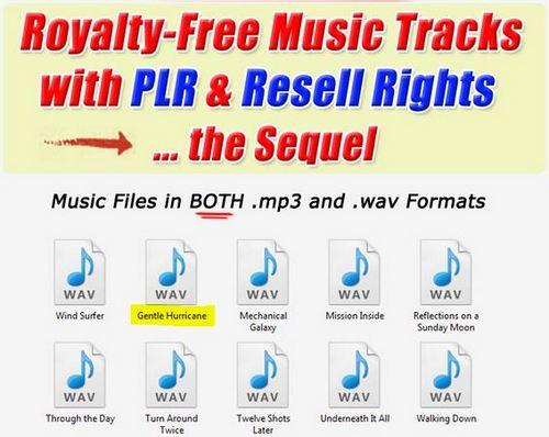 Pay for 1 Professional Quality Music tracks -Gentle Hurricane.wav