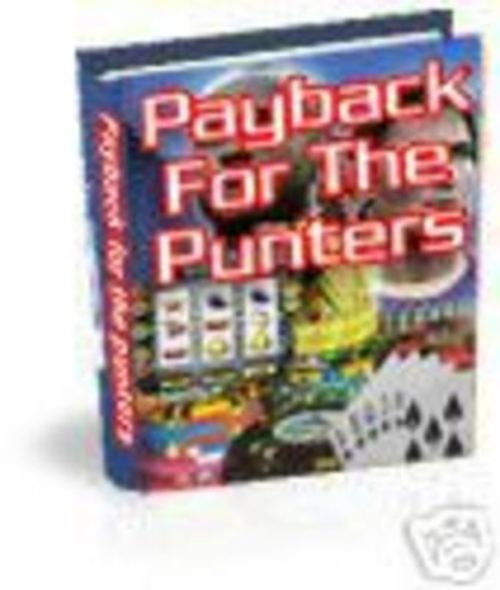 Pay for Payback for the Punters