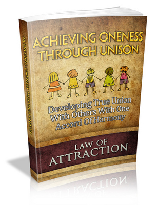 Pay for Achieving unison law of attraction plr