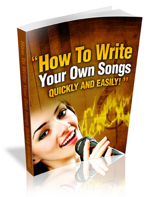 how to write your own songs Music maker offers novice music producers and beginners easy-to-use music software to create their own songs, beats & sounds a small, home virtual music studio for anyone, who ever wanted to make their own music.