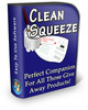 Thumbnail Clean Squeeze Software - with PLR