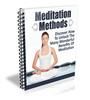 Thumbnail Meditation Methods eCourse (PLR)