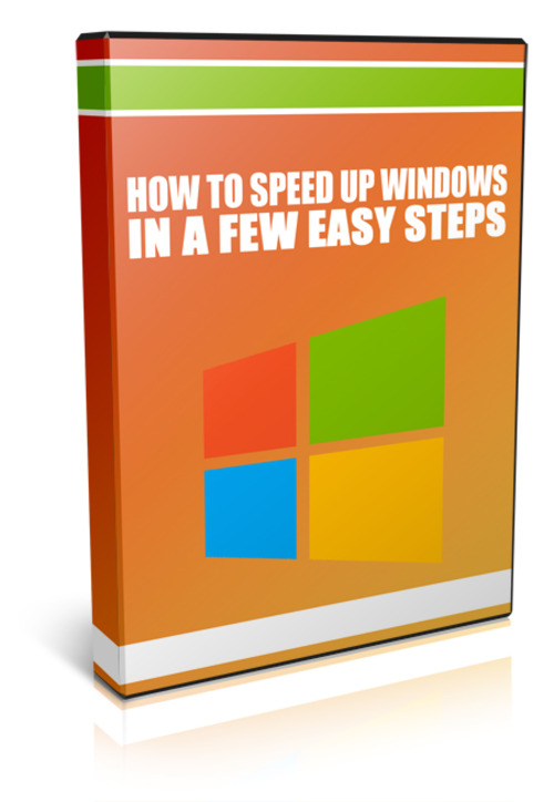 Pay for How To Speed Up Windows In A Few Easy Steps (MRR)