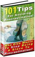 Thumbnail 101 Tips For Avoiding Procrastination! Who Else Wants To Stop Being A Slave To Procrastination? - *w/Resell Rights*