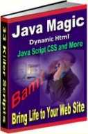 Thumbnail Java Magic  Bring Life To Your Website  Javascript Magic - *w/Resell Rights*