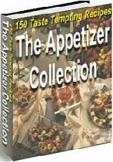 Thumbnail The Appetizer Collection - 150 Taste Tempting Recipes - *w/Resell Rights*
