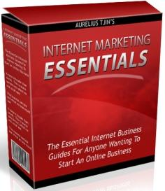 Thumbnail Internet Marketing Essentials  7 KILLER Products Inside - *w/Resell Rights*