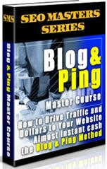 Thumbnail Blog & Ping Master Course  How To Drive Traffic And Dollars To Your Website - *w/Resell Rights*