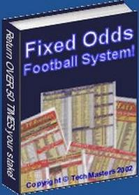 Thumbnail Fixed Odds Football System  Return Over 50 Times On Your Stake