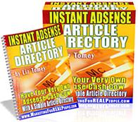 Thumbnail Instant Adsense Article Directory  Have Your Very Own Adsense Cash Cow - *w/Resell Rights*