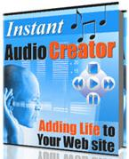 Thumbnail Instant Audio Creator  Adding Life To Your Website  Add Audio To Your Website - *w/Resell Rights*