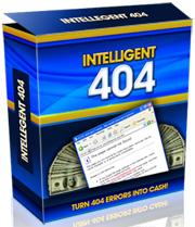 Thumbnail Intelligent 404  Turn 404 Errors Into Cash - *w/Resell Rights*