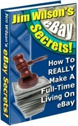Thumbnail Jim Wilsons Ebay Secrets  How To REALLY Make A Full-Time Living On Ebay