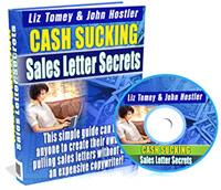 Thumbnail Cash Sucking Sales Letter Secrets  How To Create Your Own Pulling Sales Letters - *w/Resell Rights*