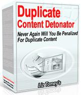 Thumbnail Duplicate Content Detonator  Never Again Will You Be Penalized For Duplicate Content - *w/Resell Rights*