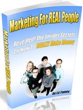 Thumbnail Marketing For REAL People  Revealed! The Insider Secrets On How To REALLY Make Money - *w/Resell Rights*