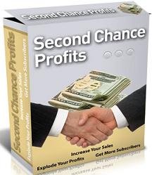 Thumbnail Second Chance Profits  Increase Your Sales, Explode Your Profits, Get More Subscribers - *w/Resell Rights*