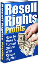 Thumbnail Resell Rights Profits  How To Make A Fortune Online With Resale Rights! - *w/Resell Rights*