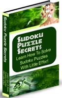 Thumbnail Sudoku Puzzle Secrets  Learn How to Solve Sudoku Puzzles With Little Effort - *w/Resell Rights*