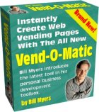 Thumbnail Vend-O-Matic  Instantly Create Web Vending Pages