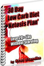 Thumbnail 30 Day Low Carb Diet Ketosis Plan  Lose 20+ Lbs Without Starving  by Scot Standke