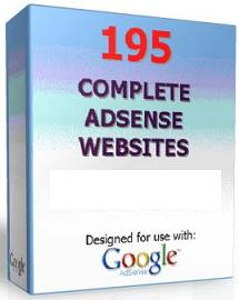 Pay for 195 Google Adsense Money-Making Websites  195 Sites To Make Money With Adsense - *w/Resell Rights*