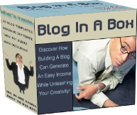 Pay for Blog In A Box  Discover How Building A Blog Can Generate An Easy Income