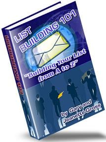 Pay for List Building 101  Building Your List From A To Z - *w/Resell Rights*