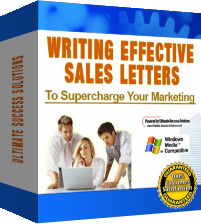 Pay for Writing Effective Sales Letters To Supercharge Your Marketing - *w/Resell Rights*
