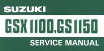 Thumbnail Suzuki Gsx 1100 - Gs 1150 Service & Repair Manual Download