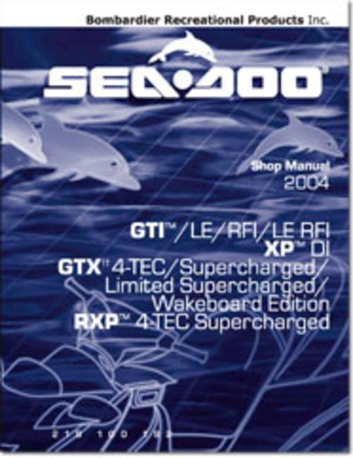 2004 Seadoo Gti  Gti Le  Gti Rfi  Gti Le Rfi  Xp Di  Gtx