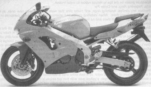 Free 1998 1999 Kawasaki ZX9R Motorcycle Service & Repair Manual Download thumbnail