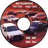 Thumbnail MITSUBISHI TRITON ME MH MJ 1983-1994 MODEL WORKSHOP MANUAL