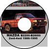 Thumbnail MAZDA B2200-B2600i 1987-1996 COURIER 2WD-4WD REPAIR MANUAL