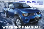 Thumbnail MITSUBISHI ML MN TRITON  DIESEL WORKSHOP MANUAL 2006-2012