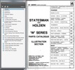 Thumbnail HOLDEN WB UTE and STATESMAN CAPRICE ASSEMBLY AND PARTS BIBLE