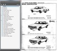Thumbnail HOLDEN TORANA LH LX UC L34 SLR5000 FACTORY PARTS AND ASSEMBLY MANUAL