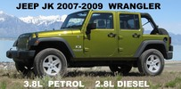 Thumbnail JEEP WRANGLER JK 2007 2008 2009 SERVICE-REPAIR MANUAL