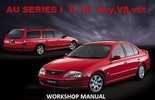 Thumbnail FORD AU FALCON AU FAIRMONT XR6 XR8 WORKSHOP MANUAL 6CY-V8