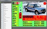 Thumbnail isuzu holden TF RODEO 1988-2002 WORKSHOP MANUAL