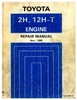 Thumbnail TOYOTA 2H 12H-T ENGINE WORKSHOP REPAIR MANUAL
