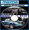 Thumbnail MAZDA BT-50 BT50 DIESEL 2011 2012 2013 WORKSHOP MANUAL