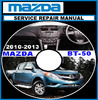 Thumbnail MAZDA BT-50 BT50 DIESEL 2011 2012 2013 WORKSHOP MANUAL