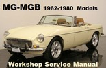 Thumbnail MG MGB 1962-1980 ROADSTER-GT COUPE Workshop Service Manual