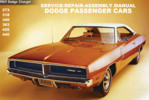 Thumbnail DODGE CHARGER R/T HEMI 1969 WORKSHOP MANUAL