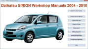 Thumbnail Daihatsu Sirion Master Repair-Electrical-Body MANUAL