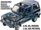 Thumbnail DAIHATASU  ROCKY FEROZA II  2.8L-T DIESEL 1992-1998