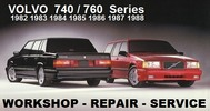 Thumbnail VOLVO 740 - 760 1982-1988 WORKSHOP REPAIR MANUAL