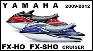 Thumbnail YAMAHA WAVERUNNER FX HO / FX SHO / FX SHO CRUISER 2009-2012