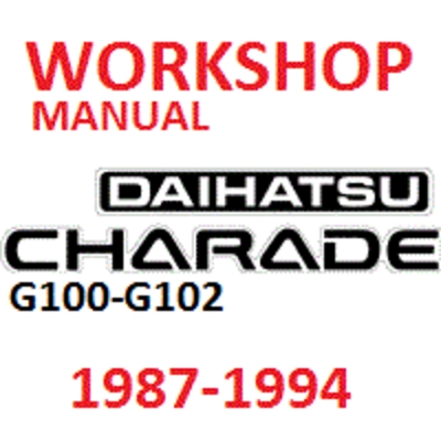 diahatsu charade g100 g102 1987 94 workshop manual download manua Daihatsu Charade Turbo pay for diahatsu charade g100 g102 1987 94 workshop manual